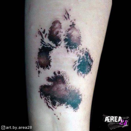 Hundepfote_Pfotenabdruck_Tattoo