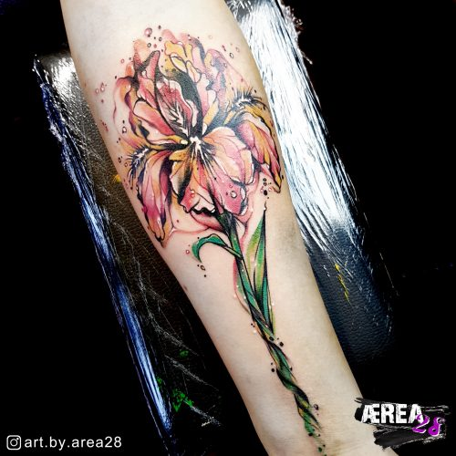 lilie-tattoo-blumentattoo-sketch-fantasy