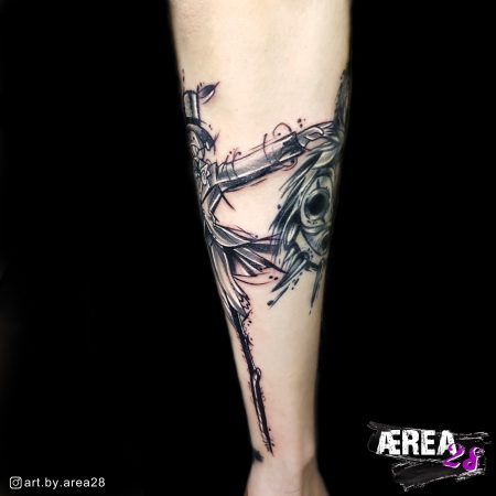 Studio Ghibli Tattoo Rübe Tattoo by Älli Lux from Tattoo Studio Art by AREA28_3